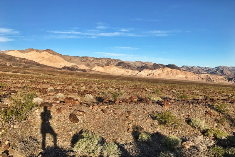 Hike Off Of Emigrant Campground In Death Valley NP
